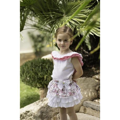 conjunto falda DOLCE PETITI 2211/2/3 V19.