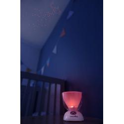 Luz nocturna para bebé, corriente alterna, batería --Babymoov A015018 -