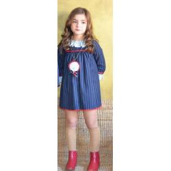"""vestido marta a marte """"coleccion FOX"""" 305t inv20"""