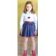 """conjunto falda marta a marte """"coleccion FOX"""" 305F inv20"""