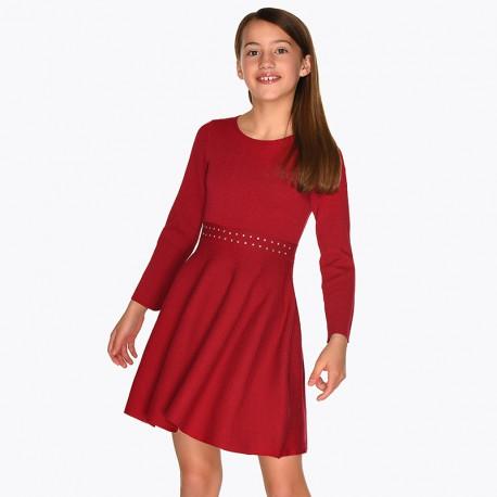 Vestido tricot strass MAYORAL 7920 INV20