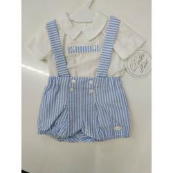camiseta y pantalon corto dolce petit 2053-23 v20.