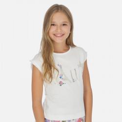 Camiseta MAYORAL flor 6001 VE20