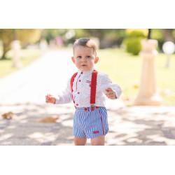 camisa y pantalon corto dolce petit 2171-23l V20.