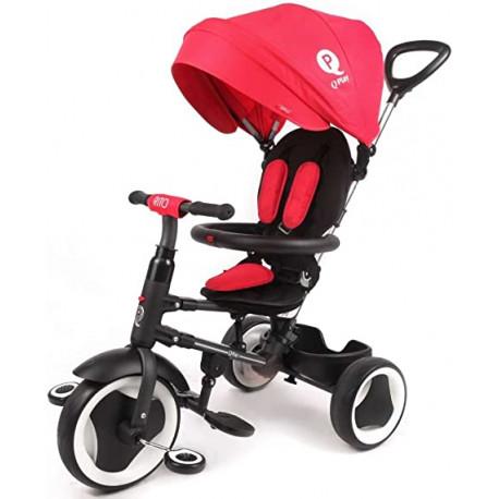 Triciclo Evolutivo Plegable Qplay s380 Rito Rojo