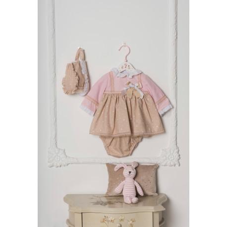 vestido+braga+capota DOLCE PETIT 2032VBG INV19