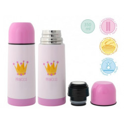 TERMO kiokids 350ML ACERO INOXIDABLE  PRINCESS 1994