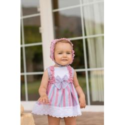 vestido+BRAGUITA  dolce petit 2124VB V19.