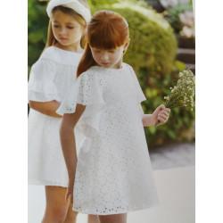 vestido jacquard troquelado ABEL&lula 5041 v19.